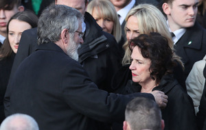 Widow of Martin McGuinness pays tribute to 'outpouring of love and solidarity'