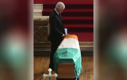 Video:   Finish the peace building of Martin McGuinness, Bill Clinton urges