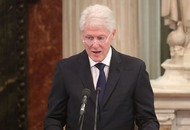 Watch Bill Clinton deliver passionate eulogy at Martin McGuinness's funeral