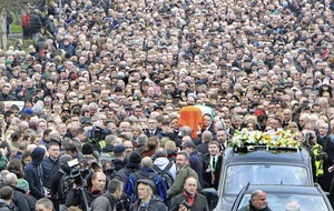 Martin McGuinness funeral a mix of public pride and private grief