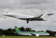 Clinton brought to Derry in Denis O'Brien's jet
