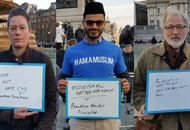 We asked people at the Trafalgar Square vigil what their message was after the Westminster attack