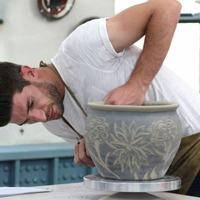 The Great Pottery Throw Down winner Ryan was inspired to start potting after a Tinder date