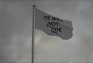Shia LaBeouf's anti-Donald Trump art installation has come to the UK