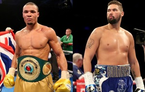 Chris Eubank Jr wants to fight Tony Bellew after his 'better belts in Matalan' comment