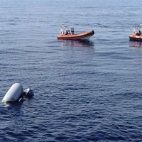 Bodies of baby boy and two adult migrants found off coast of Libya