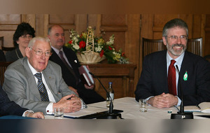 Gerry Adams and Ian Paisley: 10 years since their historic face-to-face meeting