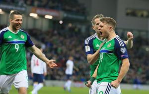 Jamie Ward and Conor Washington give Northern Ireland win over Norway
