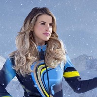 Vogue Williams still on the mend following knee injury received on The Jump
