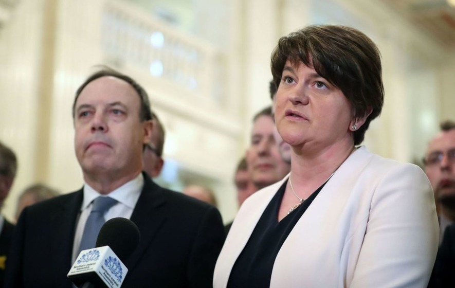 Video Arlene Foster Sinn Fein Were Not In Agreement Finding Mode