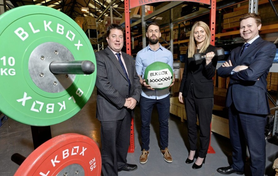 Fitness firm BLK Box expand into Titanic Quarter's Channel Commercial Park
