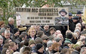 Jim Gibney: McGuinness's funeral reminded me of Bobby Sands