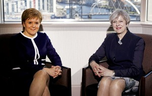 Theresa May and Nicola Sturgeon hold talks as prime minister prepares to trigger Brexit
