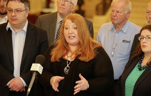 Individual 'vanity projects' threatening Stormont deal, says Alliance leader Naomi Long