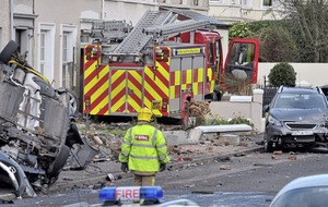 Larne man who stole fire engine admits leaving £1.5m 'trail of destruction'
