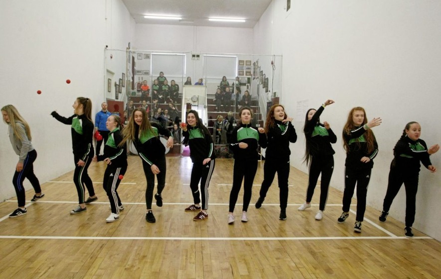 Handball stars turn out for Ulster GAA She's Ace initiative