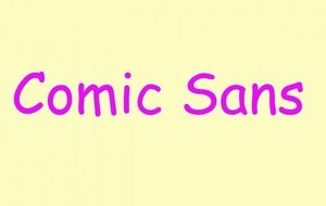 Comic Sans creator reveals he has only used the typeface once