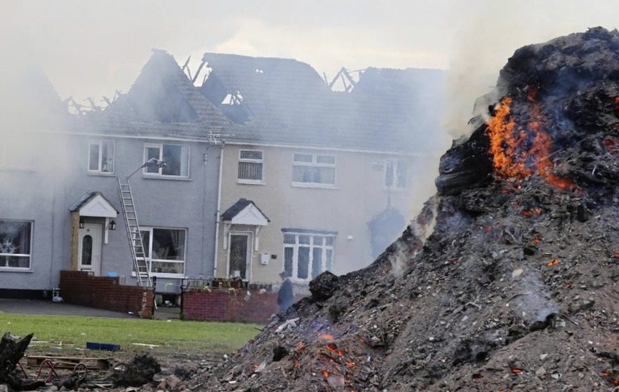 Loyalist bonfires: 113 built on Housing Executive land without approval