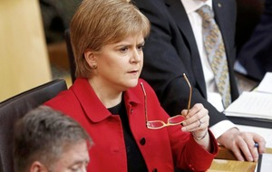 Holyrood's backing for second referendum must be respected says Sturgeon
