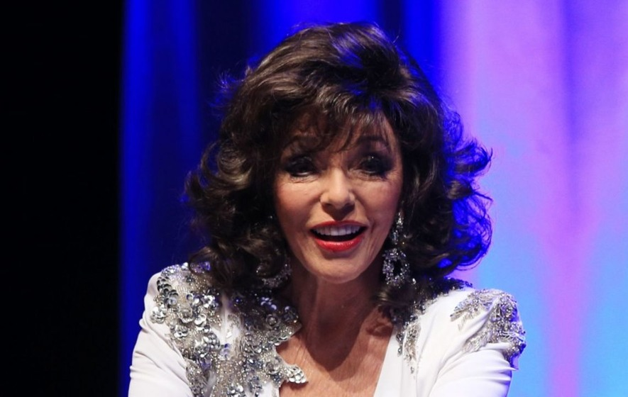 I cannot see the point in retiring, says Dame Joan Collins, 83