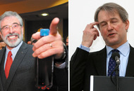 Audio: Sinn Féin leader Gerry Adams calls Owen Paterson 'a complete tube'