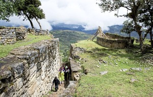 Lost and found: Peru's ancient fortress city Kuelap brought back to life by tourism