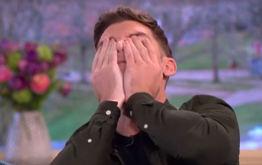 'I've lost my job!' Kieron Richardson accidentally hints that Ste killed Amy in Hollyoaks