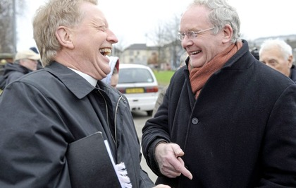 'My unlikely friendship with Martin McGuinness'