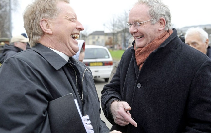 'My friendship with McGuinness started with a paint bomb attack'