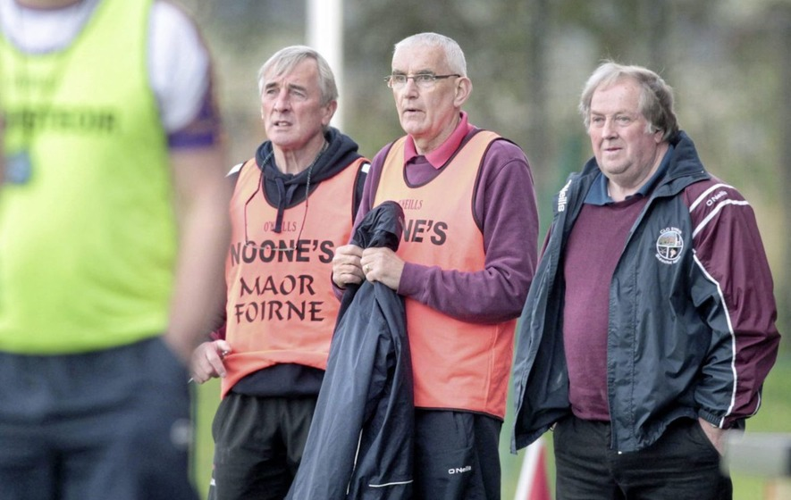 Slaughtneil boost as Mickey Moran and Michael McShane commit to another year