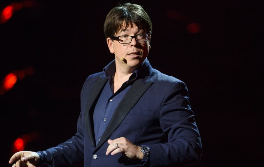 Michael McIntyre sends audience wild with surprise appearance at charity gig