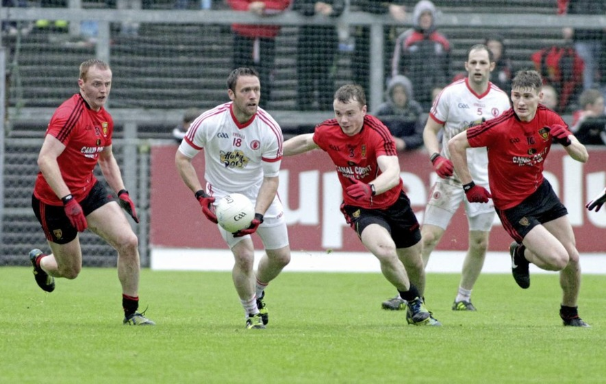 Benny Coulter wants Down to go for broke and start Jerome Johnston and Mark Poland against Cork
