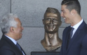 Cristiano Ronaldo has had an airport named after him but people can't stop laughing at this statue