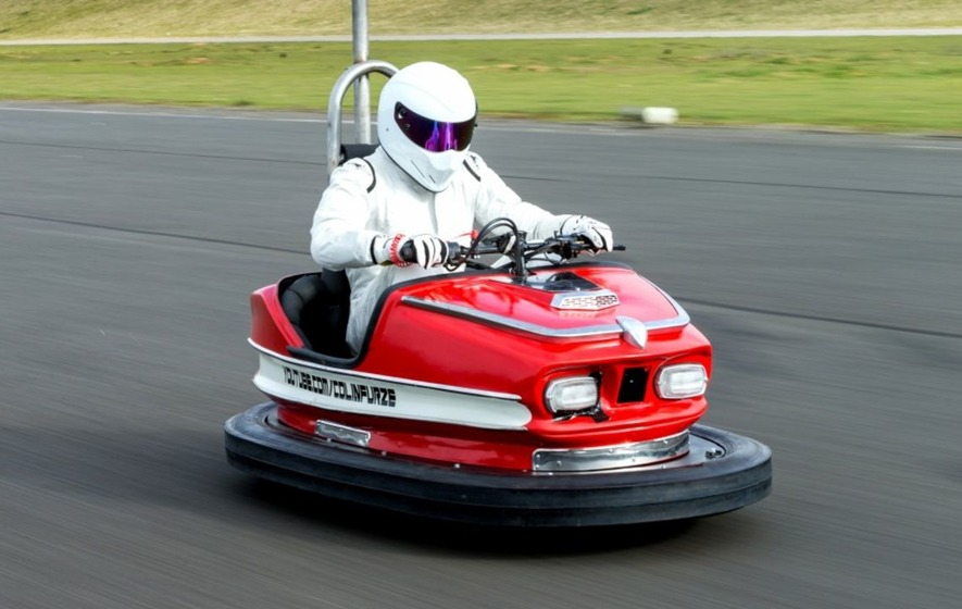 Top Gear's The Stig sets world speed record ... in a dodgem