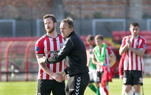 Derry City boss Kenny Shiels wants his side to control their emotions