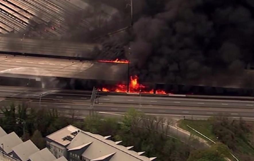 Atlanta commuters scrambling for alternative routes after bridge collapse