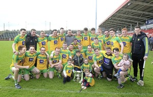 Donegal cruise into Allianz Hurling League Division 2B with huge win over Tyrone