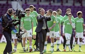 Celtic manager Brendan Rodgers in dreamland as his team seal title success with victory over Hearts