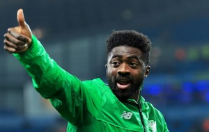 Celtic and Kolo Toure celebrated their title win with the Toure chant, and it's absolutely perfect