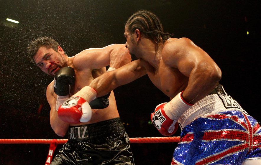 On This Day - April 3 2010: David Haye retains WBA heavyweight title halting John Ruiz
