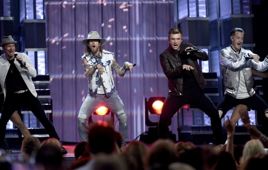 Everybody... Backstreet's Back as the band shines at Country Music Awards