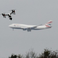 The number of drone near-misses at Heathrow has more than tripled in a year