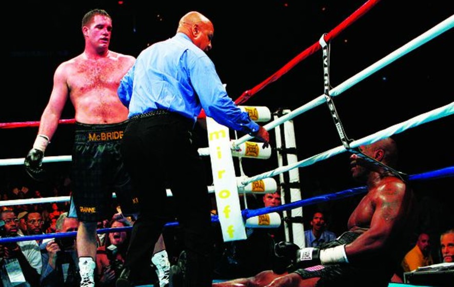VIDEO: 'When my kids grow up they can say my daddy kicked Mike Tyson's ass.': 12 years on, Kevin McBride looks back on the night that changed his life
