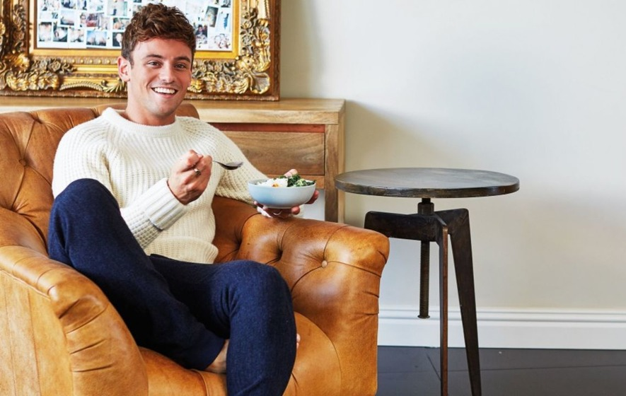 Want an Olympic diver's body without the 10m board? Here are Tom Daley's 5 health tips