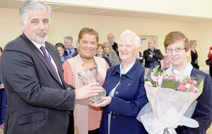 Sister Bernadine thanked for her work with homeless in Belfast
