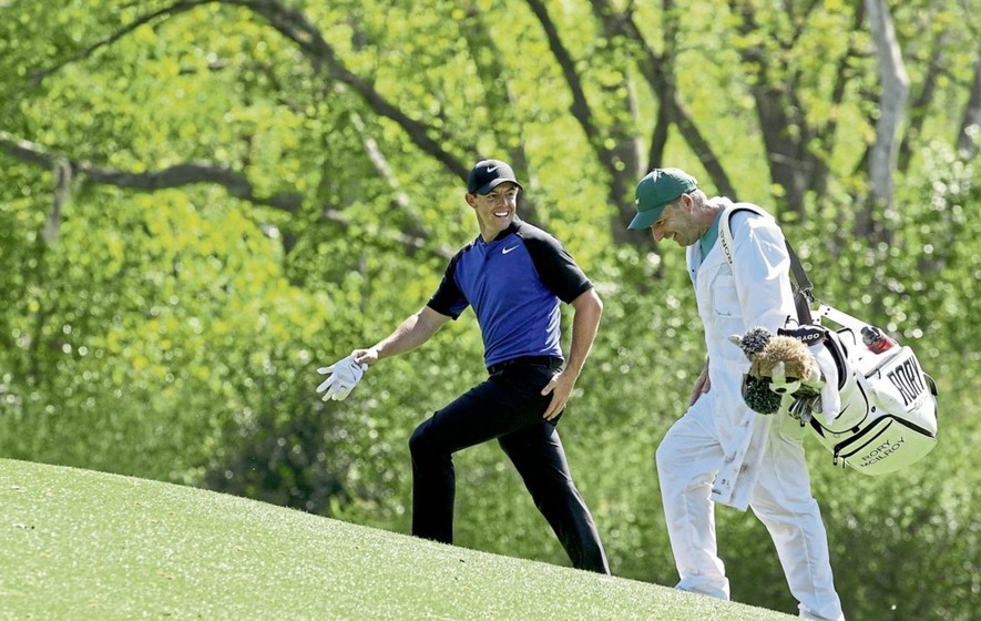 Rory McIlroy ready to 'rain' at Augusta