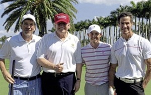 Rory McIlroy: I'd think twice before playing with Donald Trump again