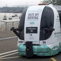Members of the public can pootle around in a driverless vehicle for the first time