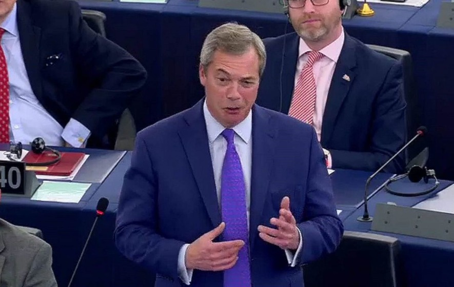 Nigel Farage has come under fire for accusing MEPs of 'behaving like the mafia'
