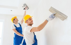The pain-free way to paint plaster